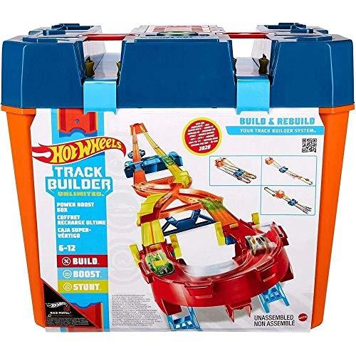 Pista Hot Wheels Track And Builder Mega Caixa - Mattel