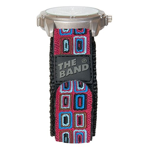 Chisco* The Band 20mm Standard - Uhrenarmband Stoff, Farbe:4 Square
