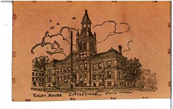 Photo Reprint Court House, Circleville, Ohio