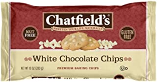 Sponsored Ad - Chatfield's Gluten-Free White Chocolate Baking Chips, 10oz Bags, Case of 12 (3746)