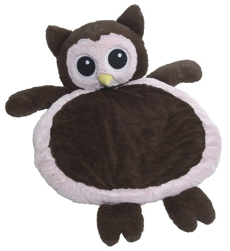 Discover Bargain Mary Meyer Bestever Baby Mat, Pink and Brown Owl