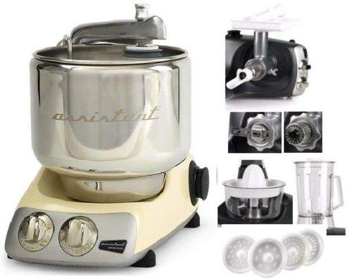 Ankarsrum Original Küchenmaschine AKM6290C 390900073–Creme mit 7Zubehör (H. Nr.)