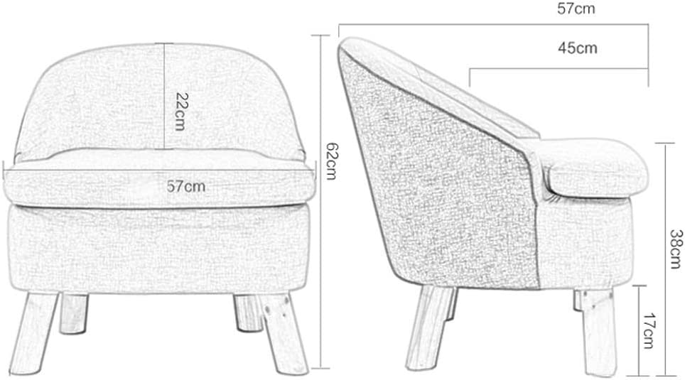 WJHCDDA Tabouret repose-pieds et poufs avec dossier canapé chaise support en bois éponge repose-pieds domestique (5 couleurs disponibles) (couleur : D) D