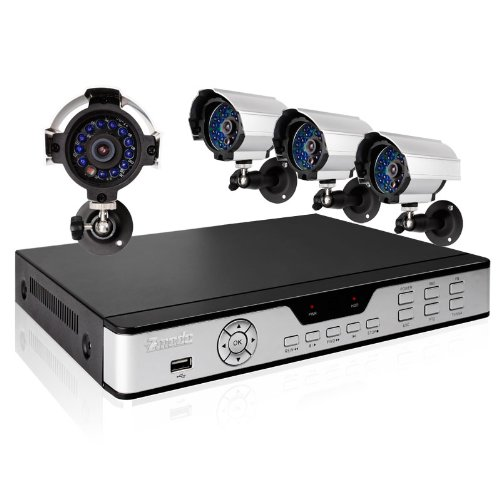 ZMODO DVR-DK81102-1TB 8 CH Security Surveillance DVR Outdoor Security Camera System 1TB