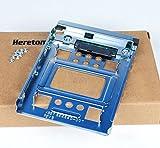 Heretom Soporte Adaptador Bandejas de Disco Duro SATA y SSD de 2,5' SSD a 3,5' Tray Caddy Caddie Adapter PN: 654540-001 con 8 Tornillos