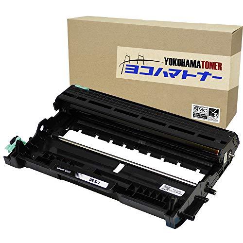 横トナ Brother ブラザー工業 DR-22J DR22J ブラック TN-27J対応のドラム 印刷枚数:約12000枚 A4用紙 印字率5% 対応機種 HL-2240D,HL-2270DW