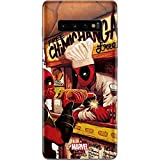 Skinit Decal Phone Skin for Galaxy S10 Plus - Officially Licensed Marvel/Disney Deadpool Chimichangas Design