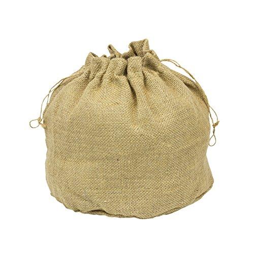 Saco de yute saco Saco de arena yute saco de decoración natural yute Bolsa Invierno–55x 55cm Eco