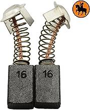 Escobillas de carb/ón Buildalot Specialty ca-07-95448 para Hitachi Amoladora G 10SD1-6,5x7,5x13 mm cable y conector Con resorte Reemplaza partes 999021 999070 /& 999084