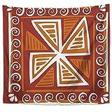 KHKJ Patrón geométrico Mandala Tapiz de Pared Decoraciones para el hogar Colgante de Pared Estilos Bohemios Tapices para Sala de Estar Dormitorio A23 150x130cm