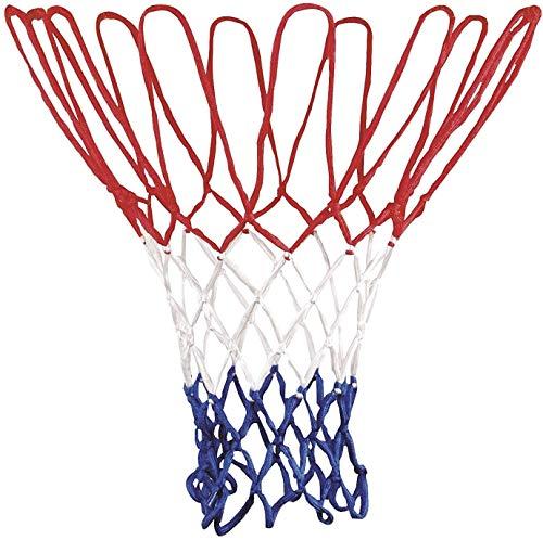 MHOYI Rete da Basket, Robusta Rete da Basket Professionale Robusta e Durevole, Adatta per canestro da Basket o per Canottaggio Standard 12 per Interno