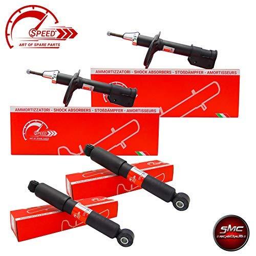 ricambi auto smc Kit 4 AMMORTIZZATORI Speed Ant + Post SPS55020 + SPS55057