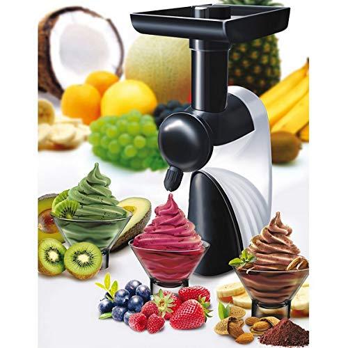 Macchina da dessert gelatiera per frutta congelata gelato yogurt ice cream - alimentazione 220v - inclusa accessori