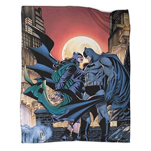 Xaviera Doherty Manta de franela para regalo de Batwoman and Batman Movie DC Super Heroes, 130 x 180 cm, súper suave y ligera, para aire acondicionado, para almuerzo, descanso, chal