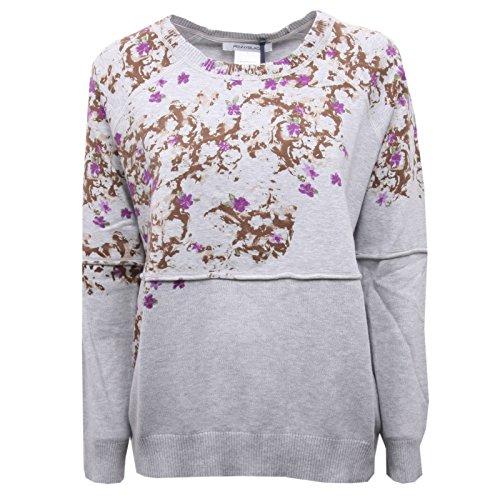 Pennyblack B5654 Maglia Donna Maglie Casual Grigio Melange Sweater Woman [XL]