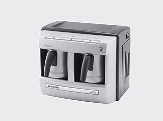 Arçelik K 3190P Çiftli Telve Kahve Makinesi, Inox