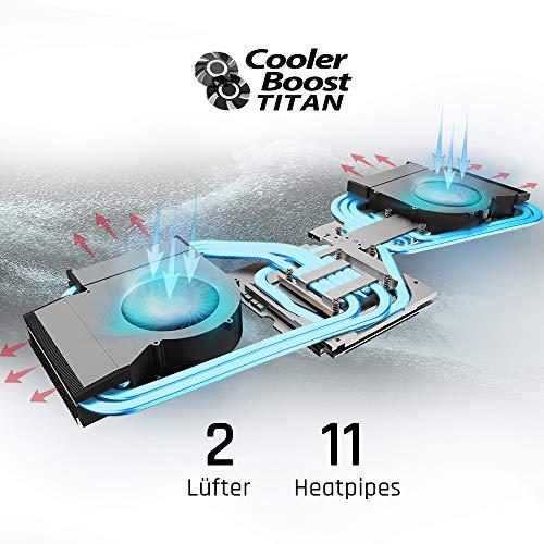 MSI GT75 8SG-036 Titan 43,9 cm 17,3 Zoll, 144Hz Gaming Notebook Intel Bild 5*