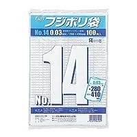 フジ ポリ袋03№14 入数:1000枚×3箱