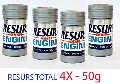 Restaurador para motores RESURS Total (4 x 50 g)