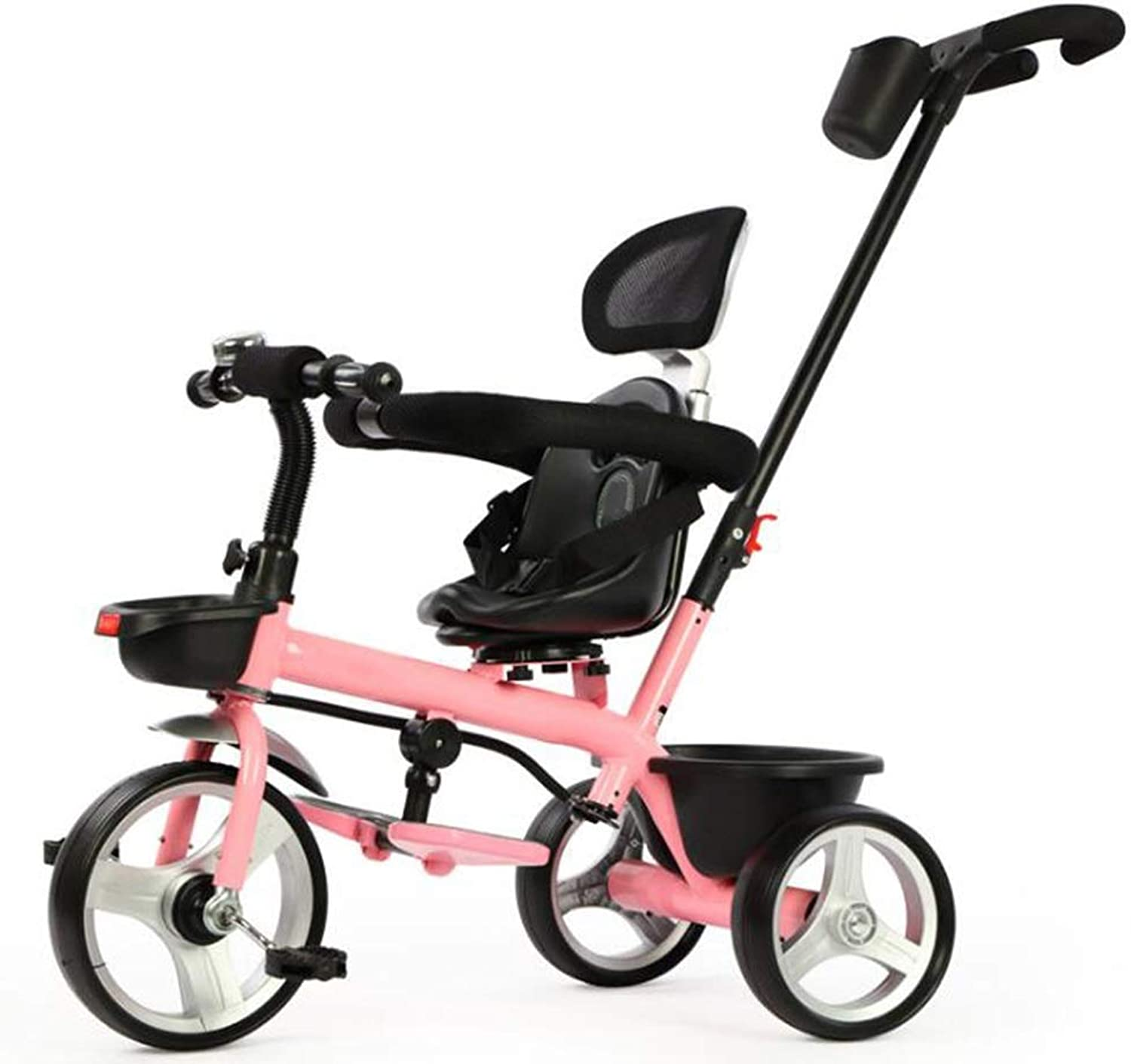 YUMEIGE Kids' Tricycles Kids Tricycle Foldable Pedal 1-6 Years Old Birthday Gift Kids Toddler Trike Load Weight 30 kg Available