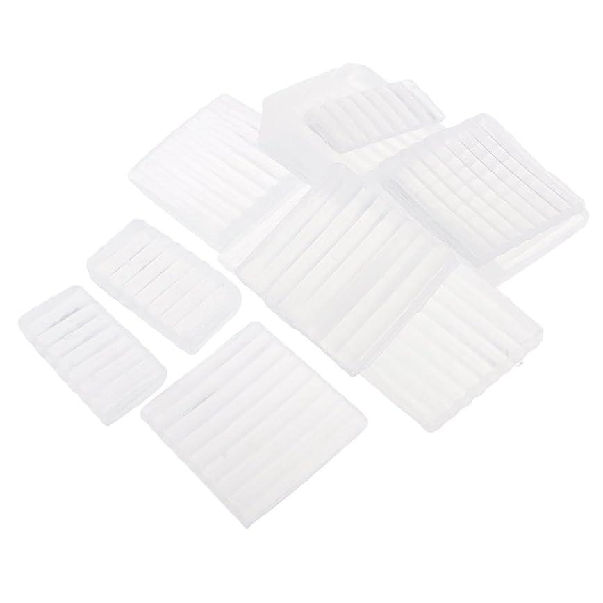 ブロックする会社製油所約500g ホワイト 透明 石鹸ベース DIY 手作り 石鹸 材料