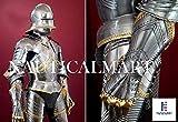 NauticalMart Gothic German Plate Armor Full Suit of Armor Medieval SCA LARP Reenactment