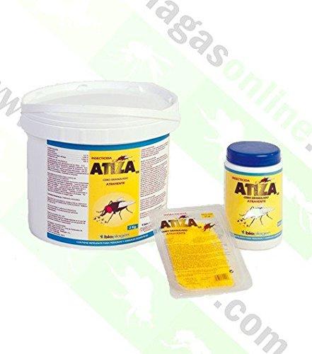 2 UDS Atiza-Insecticida Cebo 25Gr Moscas Granulado Bio