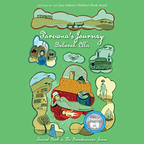 Parvana's Journey audiobook cover art