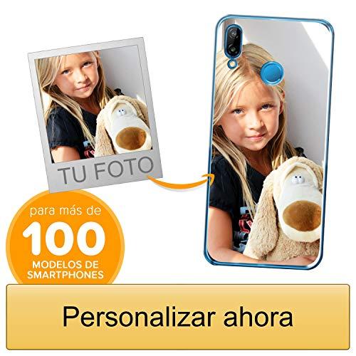 Funda Personalizada para Huawei P20 Lite con tu Foto, Imagen o Escritura - Estuche Suave de Gel TPU Transparente - Impresión