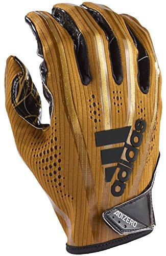 adidas Adizero 5-Star 7.0 American Football Receiver Handschuhe - metallic Gold Gr. S