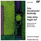 Felix Mendelssohn Bartholdy: Hebe Deine Augen auf (Kirchenwerke Vol. 7)