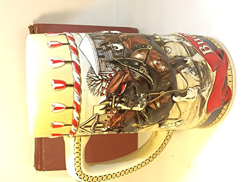 1986 Budweiser Holiday Stein - CLYDESDALE COLLECTION Series 'B'