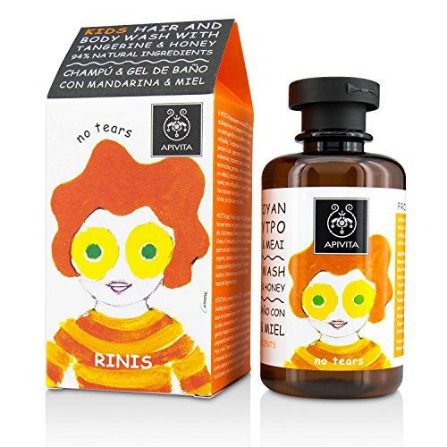 Apivita - Kids champú & gel de baño con mandarina & miel