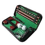 Berrywho portátil Golf Putter Putter Diestro Kit de Metal Putter del Equipo con la Pelota de Golf Agujero de la práctica para el Entrenamiento al Aire Libre de Interior