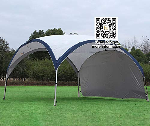 vidalido Outdoor canopy tent super large ultra light rain awning aluminum alloy telescopic sunscreen self-driving camping