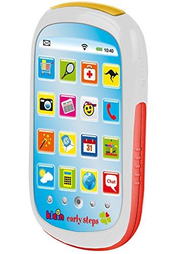 Theo Klein 4923 - Kinder Smartphone mit 16 verschiedenen So&s, Spielzeug