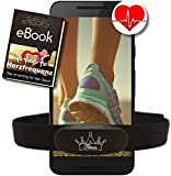 Fitness Prince Heartbeat Dual Herzfrequenz Ant+ Bluetooth Low Energy Echtzeit + Gratis Ebook -...