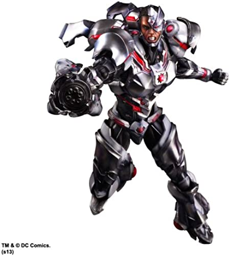 DC Comics Variant Play Arts Kai Vol. 4 Actionfigur Cyborg 27 cm