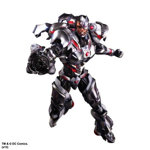 Figurine 'Dc Comics' - Play Arts Kai - Vol. 4 - Cyborg