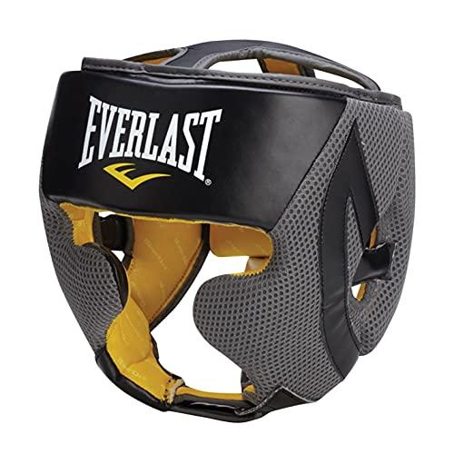 Protector de cabeza ajustable, de Everlast Evercool, para boxeo