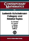 Lusternik-Schnirelmann Category and Related Topics (Contemporary Mathematics)