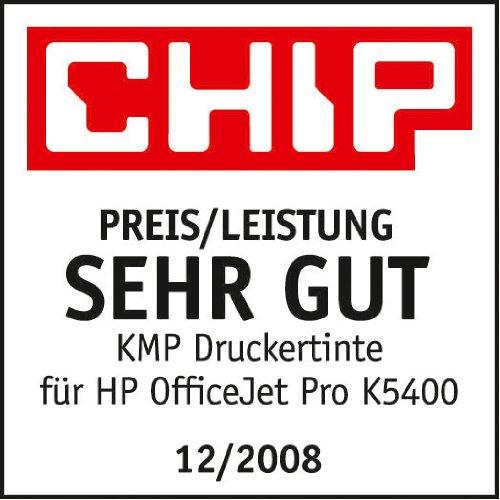 KMP Tintenkartusche für HP Officejet Pro K550, H31, black