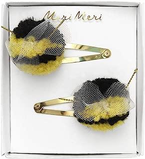 Meri Meri Bumblebee Pompom Hair Clips