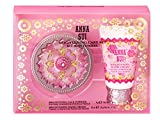 ANNA SUI Brightening Care Kit, Vitamin C Face Powder with Hand Cream, Limited Gift Set