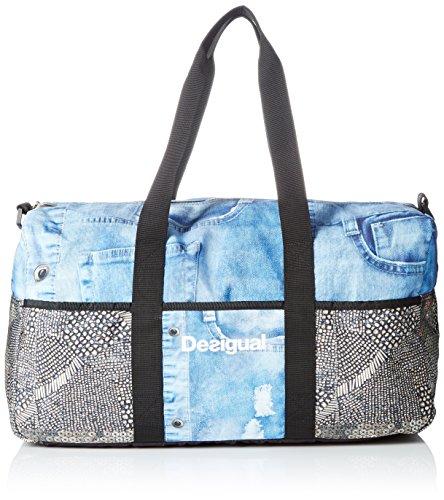 Desigual Life Bag Y, bolsa de medio lado para Mujer, Dorado (6050 ORO VIEJO), 25x30x52 cm (B x H x T)