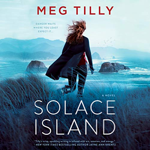 Solace Island audiobook cover art