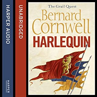Harlequin     The Grail Quest, Book 1              By:                                                                                                                                 Bernard Cornwell                               Narrated by:                                                                                                                                 Andrew Cullum                      Length: 14 hrs and 49 mins     410 ratings     Overall 4.6