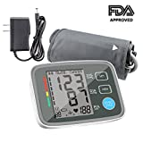 Blood Pressure Monitors Automatic Digital Upper Arm BP Monitor Automatically Measure Pulse Diastolic Systolic for Home Use 2 User Mode Fits Most Cuff FDA Approved