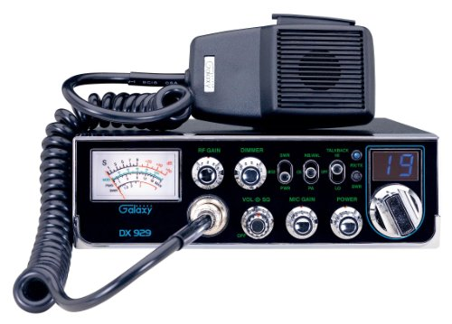 Galaxy DX-929 40-Channel CB Radio with StarLite Faceplate