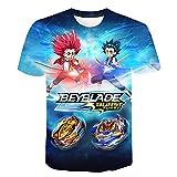 3D Beyblade Burst T-Shirts imprimés hommes femmes enfants été à manches courtes t-shirts décontracté Cool Streetwear enfants hauts t-shirts child-150